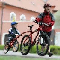 duben 2009: první letošní cyklovýlet