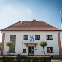 budova Sokola: hlavní vstup